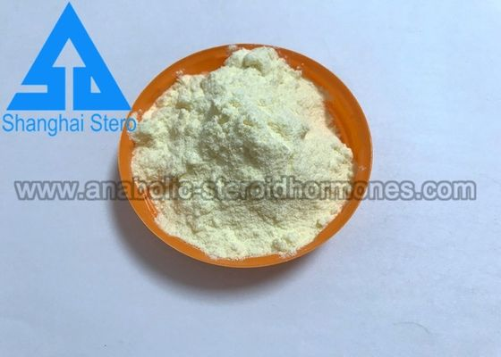 Chiny Legal Anabolic Steroids Trenbolone Acetate Light Yellow Powder CAS 10161-34-9 dostawca